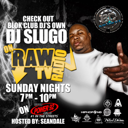 Slugo Raw TV Radio Promo (250x250)