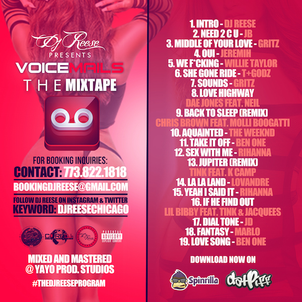 Voicemails Back Cover